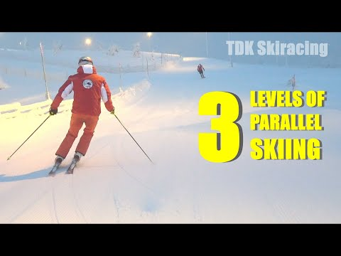 3 Levels of Parallel Skiing