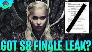 LEAKED Game of Thrones Season 8 Ep.6 Plot Leak