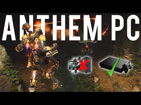 Anthem PC Version is fun but needs some love!