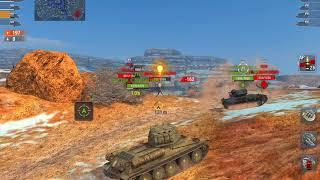 T110E3 RNG GOD VK45.02B & INSANE RUDY GAME World of tanks blitz