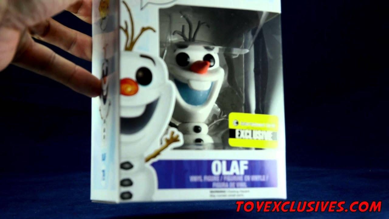 Vinyl Figure #79 Glitter Olaf Disney Frozen POP
