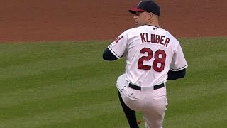 Kluber strikes out 18 Cardinals