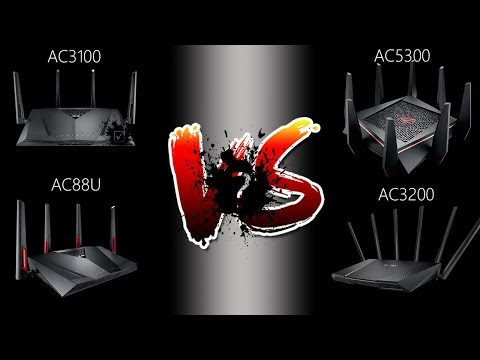 Asus ac3100 Review vs ac88u vs ac3100 vs ac5300