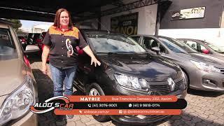 LINDO RENAULT LOGAN 2020 É AQUI NA ALDO'S CAR MULTIMARCAS