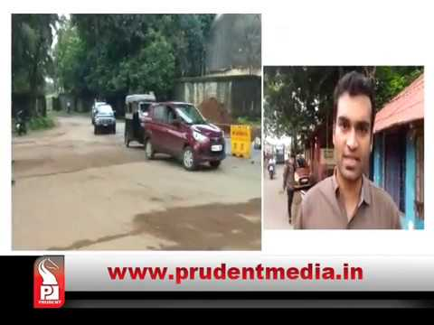 LOW QUALITY SEWAGE LINE WORK BY CONTRACTOR AT BAINA: LOCALS _Prudent Media Goa