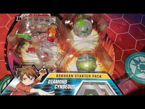 Bakugan Battle Planet Diamond Cyndeus Three Pack