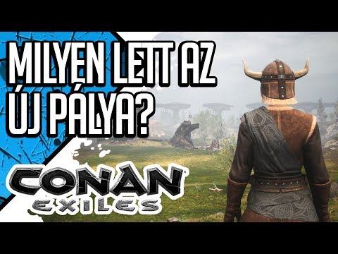 MILYEN LETT AZ ÚJ PÁLYA?  | CONAN EXILES FROZEN NORTH #2 (magyar/hun gameplay)