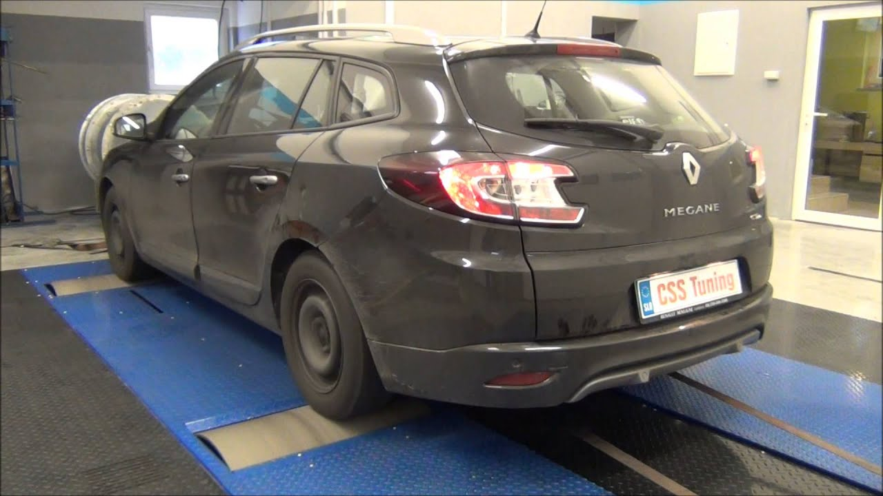 css performance renault megane 3 1 5 dci 110 hp youtube
