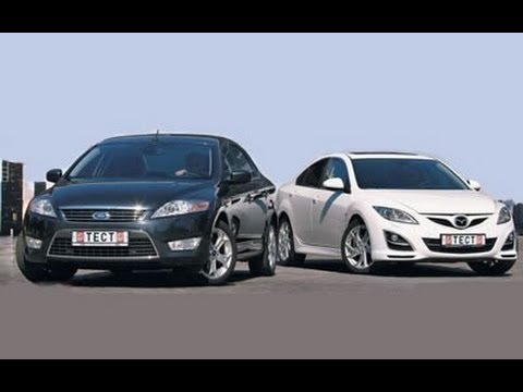 mazda 6 ford mondeo youtube. Black Bedroom Furniture Sets. Home Design Ideas