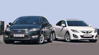 Mazda 6 & Ford Mondeo - Тест-Драйв(Тест драйв Mazda 6 и Ford Mondeo Хотите устроить настоящую проверку новенькому автомобилю? В этом вам поможет автор..., 2010-12-19T03:00:56.000Z)