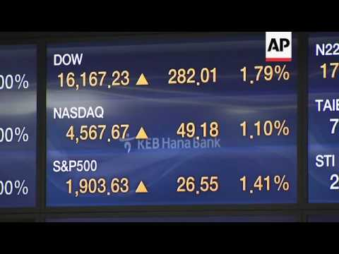 Shares open higher on Wall Street gains