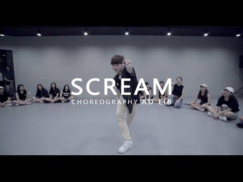 Usher - SCREAM  Choreography . AD LIB
