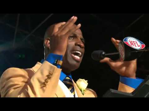 Best of Deion Sanders HOF Speech - YouTube