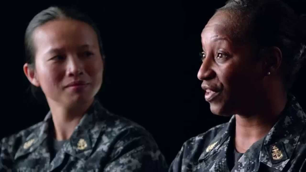 Navy Women Redefined - Kenessa Galloway - YouTube