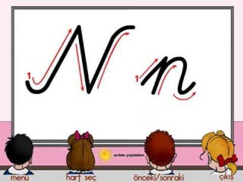 n harfi yazılışı