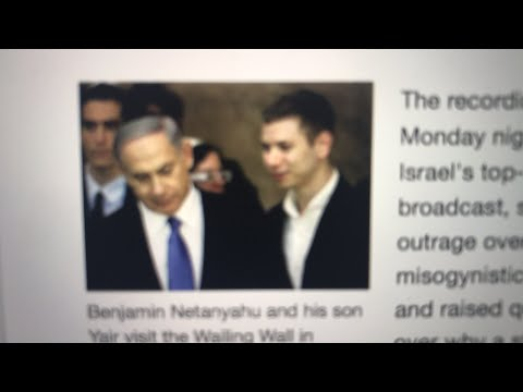 Benjamin Netanyahu son spending tax dollars on strippers and prostitutes