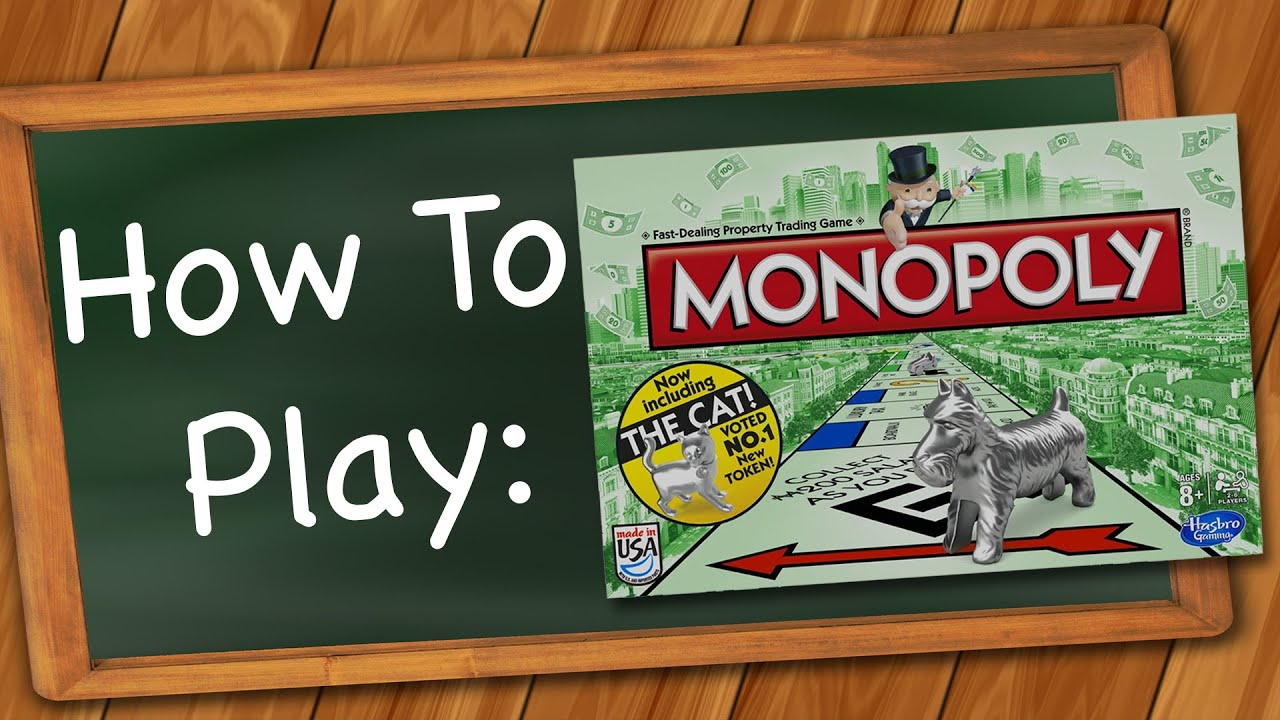 i wanna play monopoly