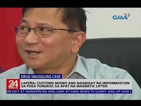 BOC Commissioner Lapeña, dumepensa sa alegasyong nagpabaya siya kaya may nakalusot na P6.8-b shabu