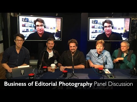 Business of Editorial Photography - Panel Discussion