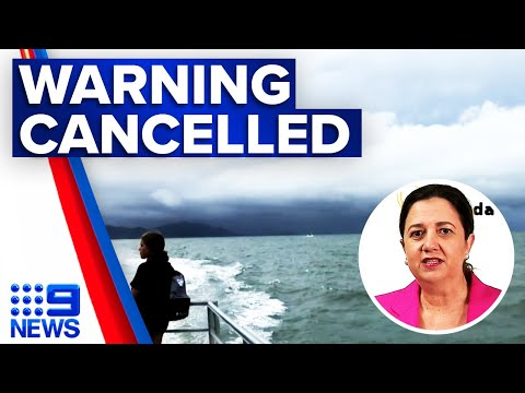 Queensland's wild weather warnings cancelled | 9 News Australia thumbnail