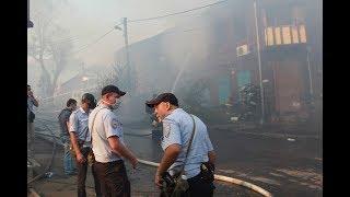 В Ростове сгорели дома в четырёх жилых кварталах Репортаж АиФ.ru