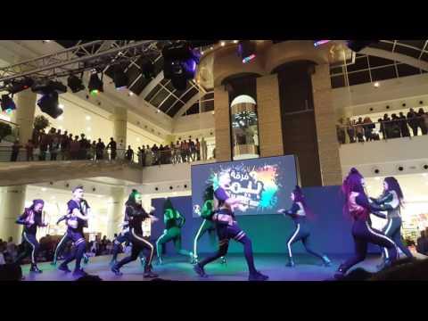 Dance competition Pema dance group performance at bawadi mall alain UAE