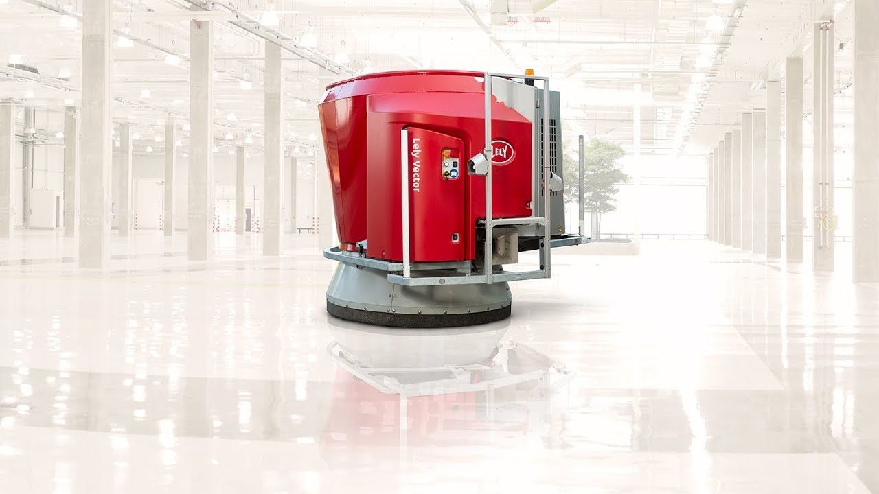 Smart feeding with the Lely Vector