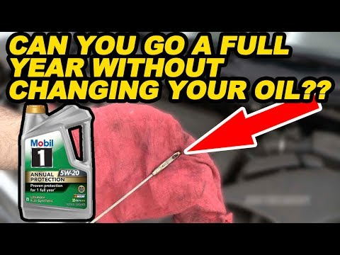 Can You Go a Full Year Without Changing Your Oil??