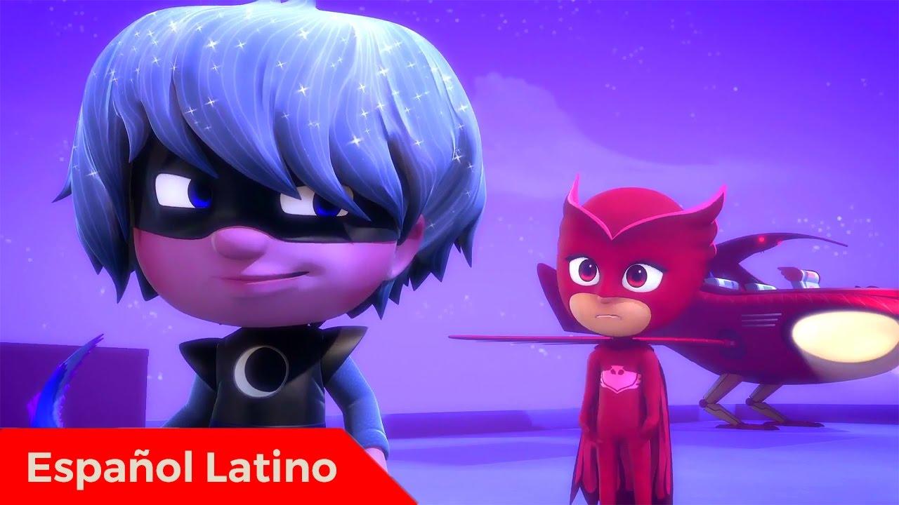 Pj Masks heroes en pijamas en español latino episodio 14 ululette y ...