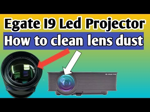 Egate I9 Led Projector How to clean lens dust