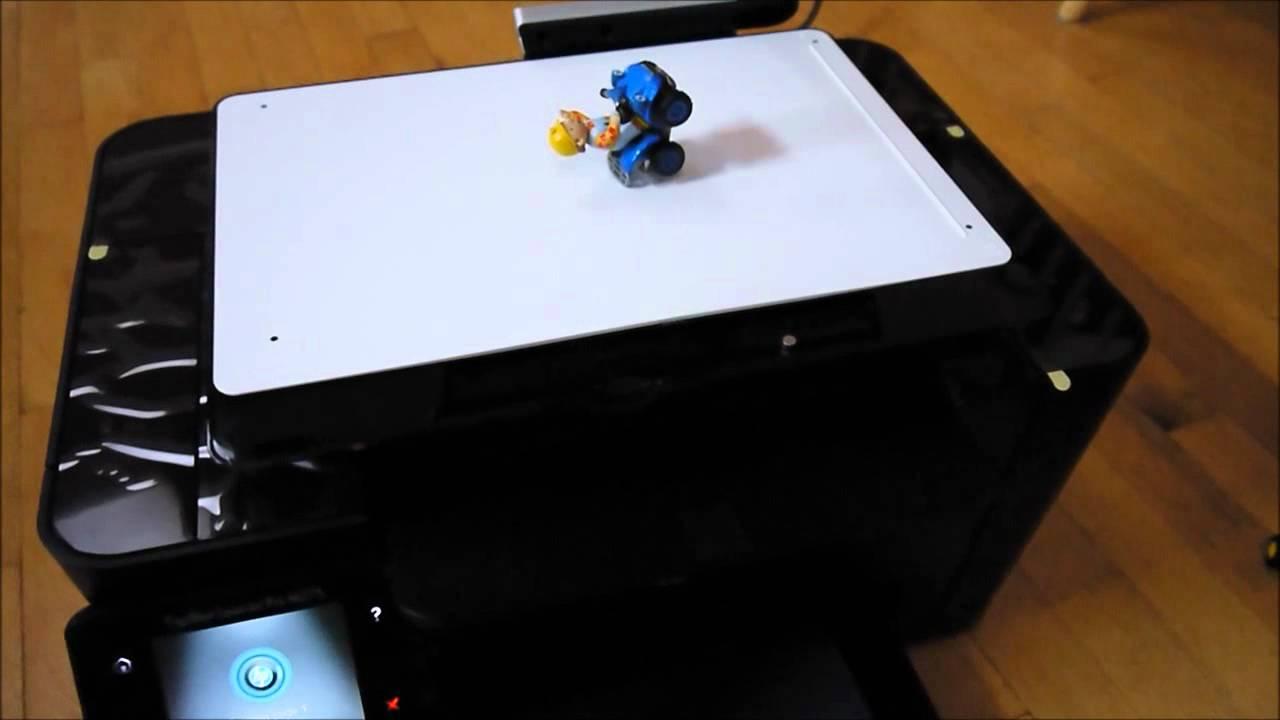 259abf870ed6 HP TopShot LaserJet M275 Review - YouTube