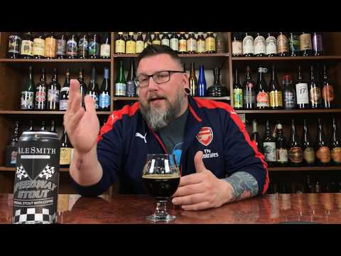 Massive Beer Reviews 1029 Alesmith Brewings Canned Speedway Stout, Imperial Stout with Coffee