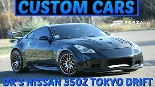 Forza 5 Custom Cars - #15 DK's Nissan 350Z (Tokyo Drift) !!!!