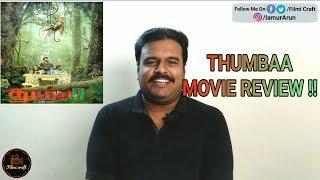 Thumbaa Review by Filmi craft   Harish Ram   Darshan   Keerthi Pandiyan   Anirudh