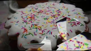 Белково-сахарная глазурь.  Белая глазурь для украшений кондитерских изделий . Просто вкусно!