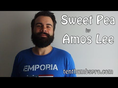 Sweet Pea - Amos Lee - How to play easy Ukulele song tutorial