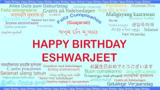 Eshwarjeet   Languages Idiomas - Happy Birthday