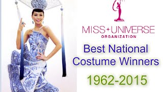 Miss Universe NATIONAL COSTUME Winners | 1962-2015