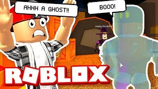 OUR HIGH SCHOOL IS HAUNTED! - ROBLOX
