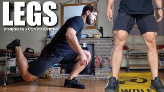 ULTIMATE HOME LEG WORKOUT // Functional Focus, No Equipment Needed