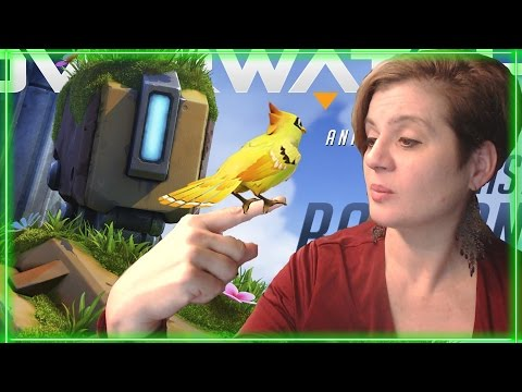 """MOM REACTS TO """"THE LAST BASTION"""" (Overwatch Cinematic)"""