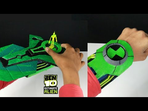 How To Make Ben 10 Ultimate Alien Cosmic Destruction Alien Interface Watch.