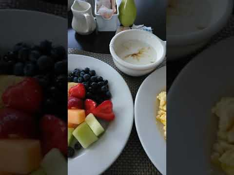 Breakfast In Miami At Sheraton Miami Airport Hotel & Executive Meeting Center