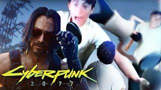 РЕАКЦИЯ НА ТРЕЙЛЕР Cyberpunk 2077 (ИНСУЛЬТ)