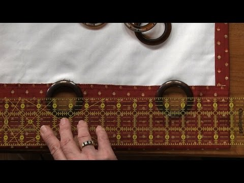 How to Sew Lined Curtains  |  National Sewing Circle