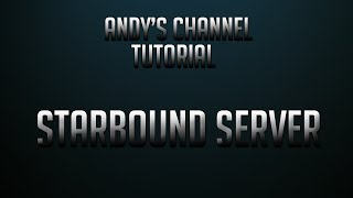 How to make a Starbound Hamachi server