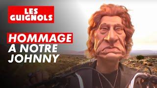Hommage à Johnny Hallyday - Les Guignols