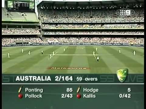 Ricky Ponting 117 vs South Africa 2005 MCG