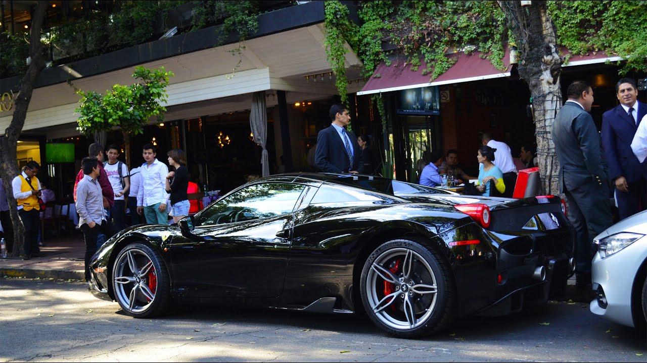 Ferrari 458 Speciale Aperta Amp Mclaren Mp4 12c Ciudad De