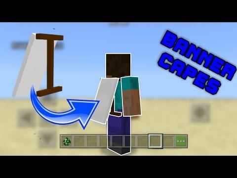 wearable-banner-capes-in-mcpe!---minecraft-addon